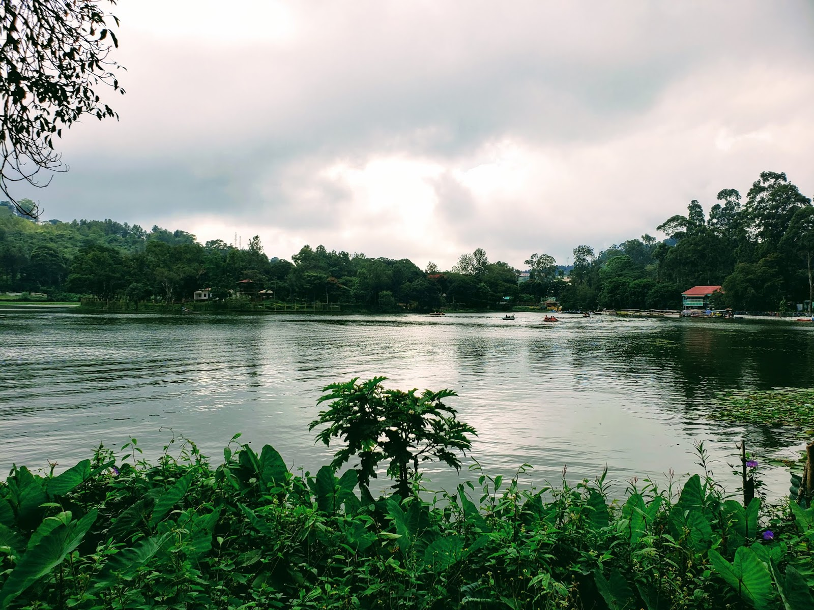 Panoramic Lake View from Lake View Park, Yercaud