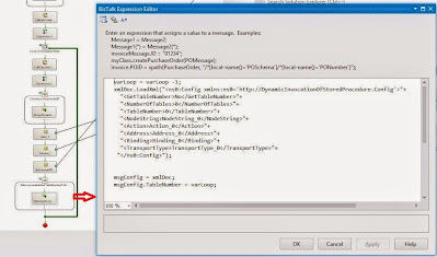 configure message assignment shape