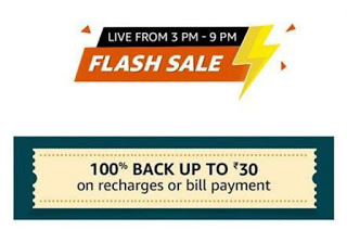 Amazon Recharge Flash Sale 23rd March