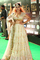 Apoorva Spicy Pics in Cream Deep Neck Choli Ghagra WOW at IIFA Utsavam Awards 2017 112.JPG