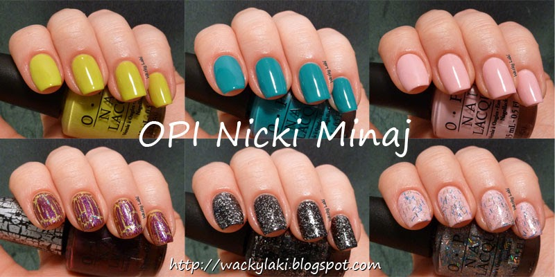 Wacky Laki Opi Nicki Minaj Collection Swatches Amp Review