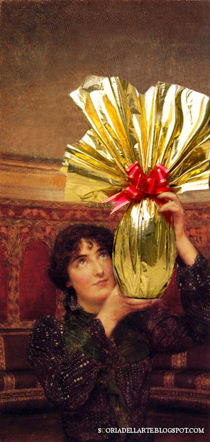 I dipinti classici nella vita moderna-A flag of Truce-Lawrence Alma Tadema