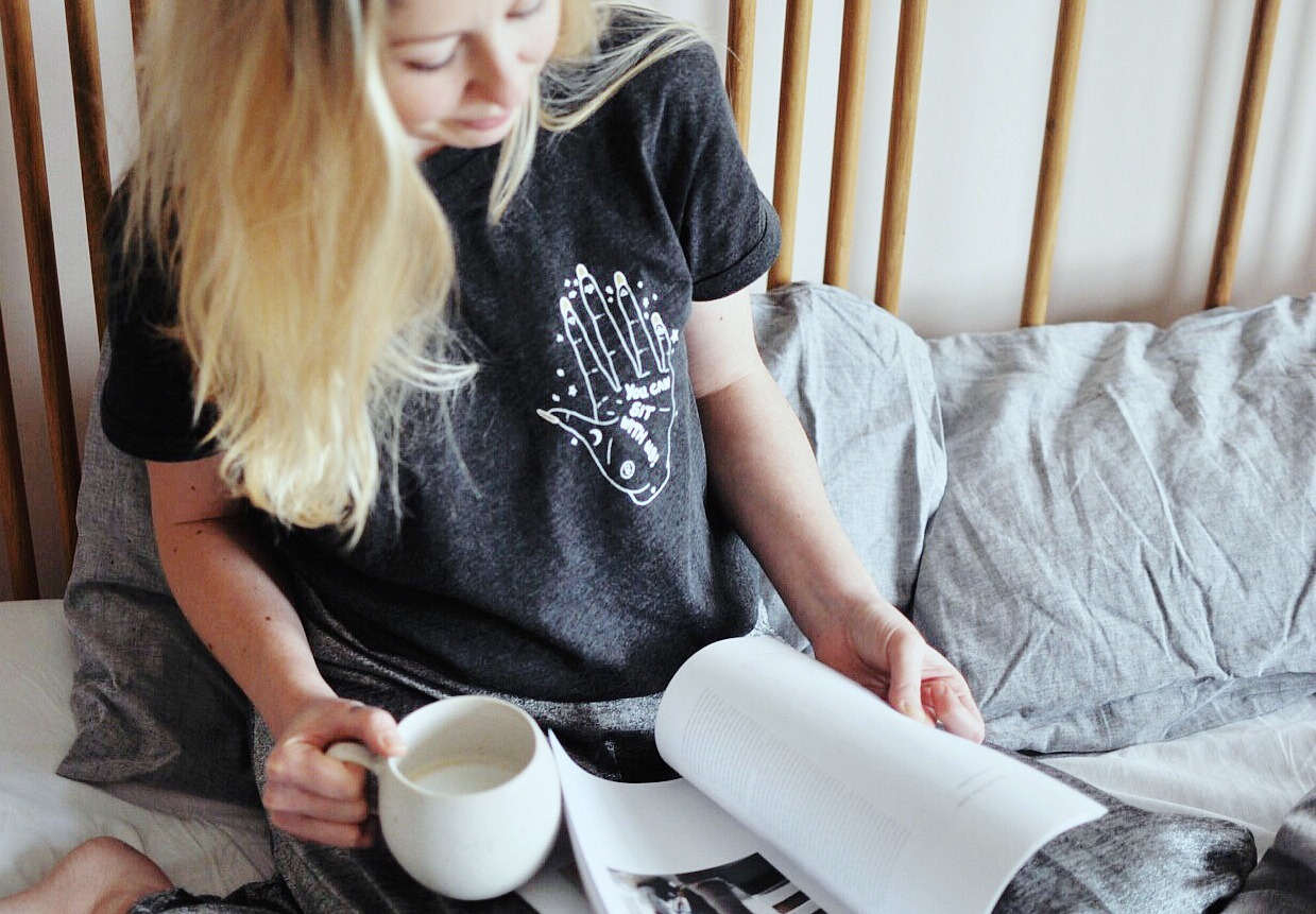 coffee ritual, the coffee pod, dolce gusto coffee, nescafe dolce gusto, dolce gusto movenza, morning routine, mama life, you can sit with us t-shirt