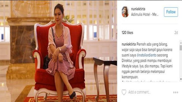 Bikin Heboh Netizen! Kisah Istri Direktur yang Pakai Dress Seharga Rp 50 Ribu, Alasannya....