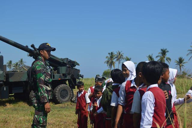 Wisata Edukasi Ala Yonarmed 12 Kostrad Warnai Latgab TNI Tahun 2019