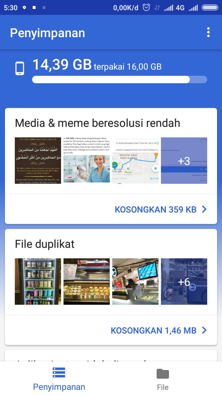 Fungsi Dan Kelebihan Aplikasi Files Go Di Android | by Google LLc