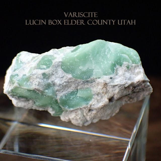 VARISCITE Lucin Box Elder County Utah