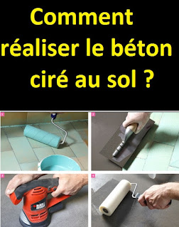comment faire du beton cir au sol tutoriels en vid o. Black Bedroom Furniture Sets. Home Design Ideas