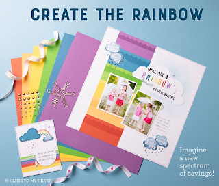 CTMH Create The Rainbow Craft Bundle