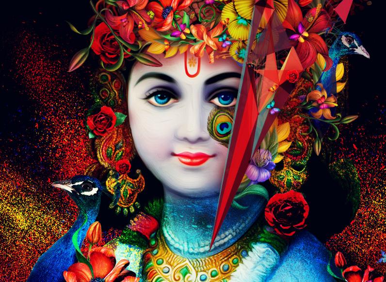 12 Best Krishna hd mobile and laptop wallpaper free download