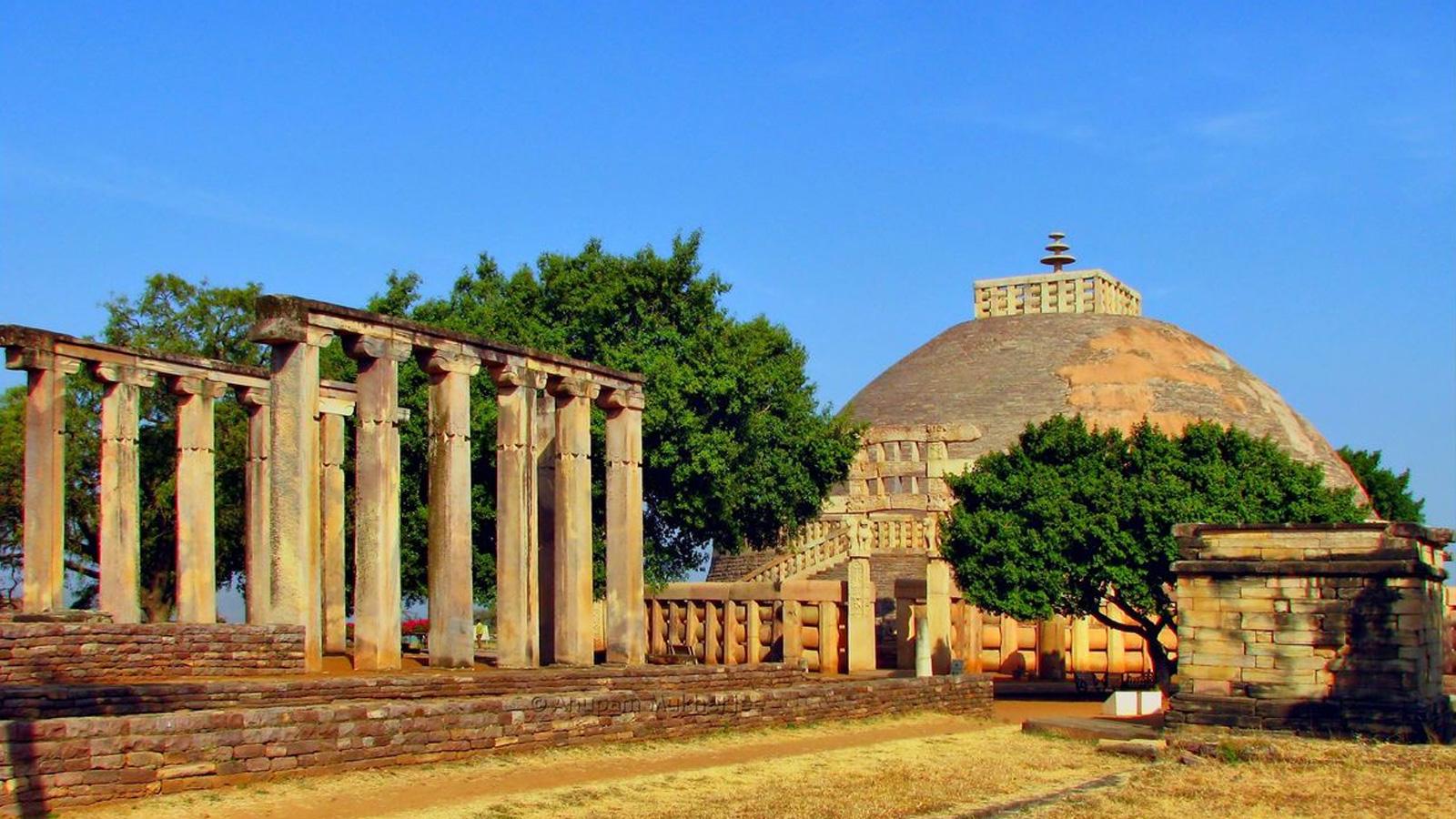 Sanchi Stupa Madhya-Pradesh