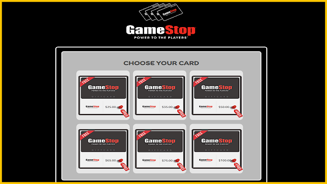 Free GameStop Gift Card Codes Generator 2021