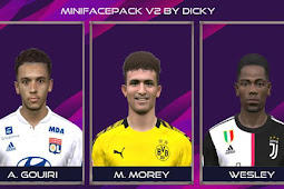 Mini Facepack #31-05-2020 - PES 2017