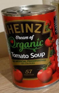 Heinz cream of organic tomato soup
