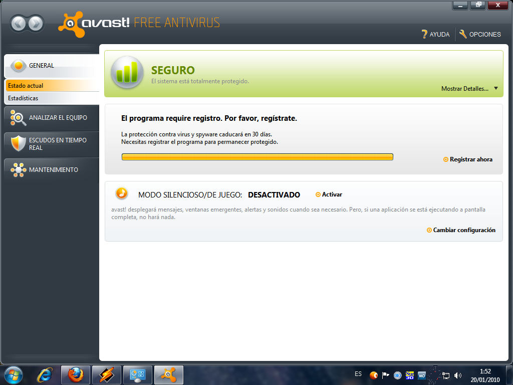 descargar antivirus avast free con licencia hasta el 2038