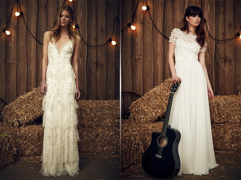 Свадебное платье в стиле бохо шик невеста
