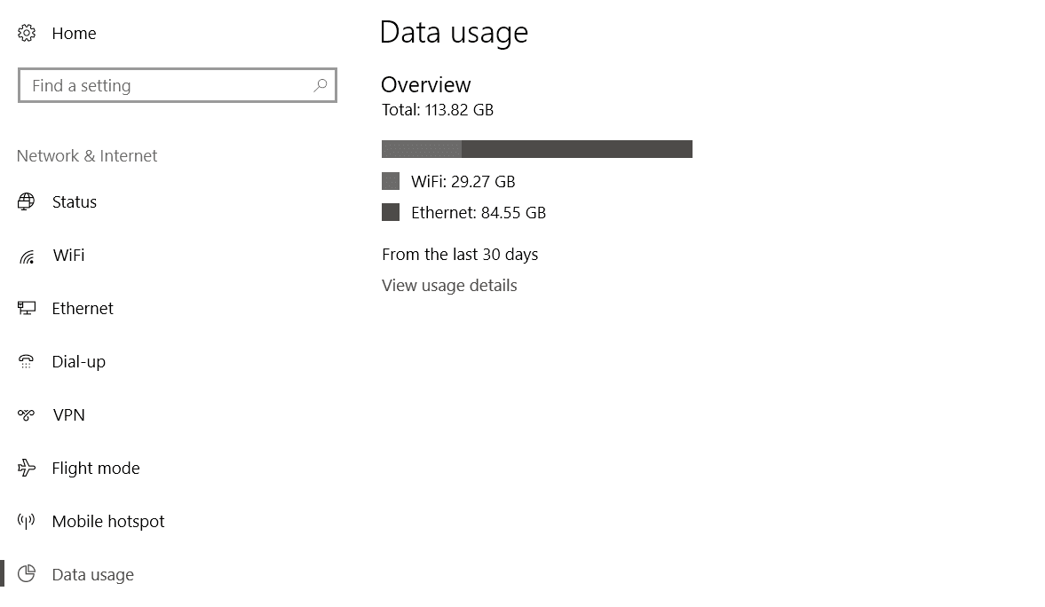 How to View & Reset Data Usage in Windows 10