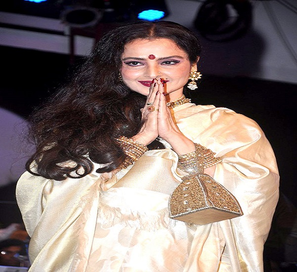 Actress Rekha's bungalow seaedl, security guard tests COVID-19 positive