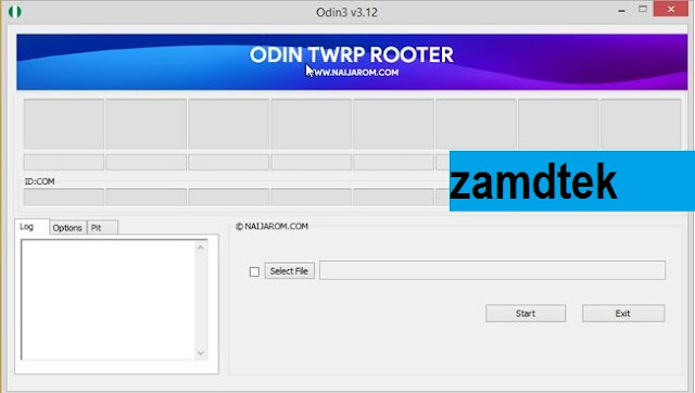 Download Odin TWRP Rooter Tool