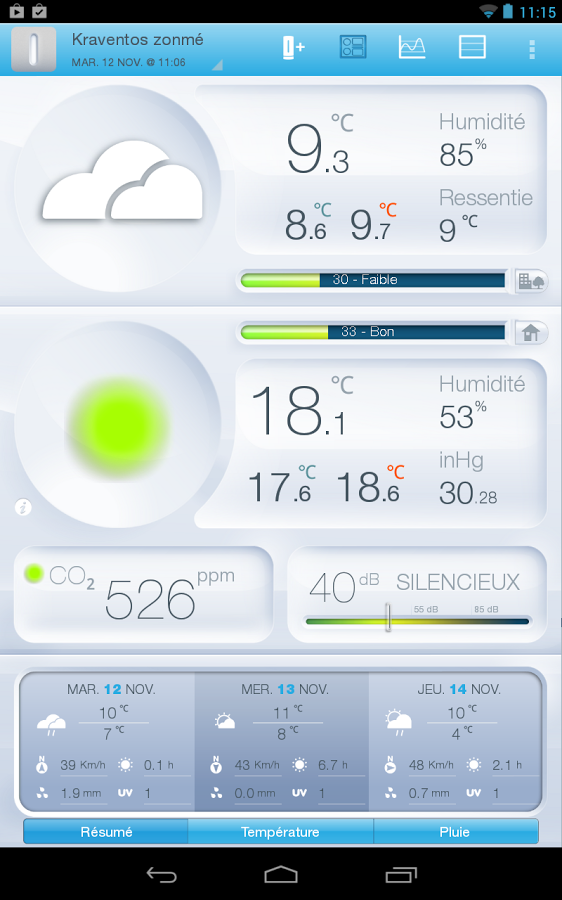 interactive weather map, Download Netatmo  interactive weather map app, free apps,