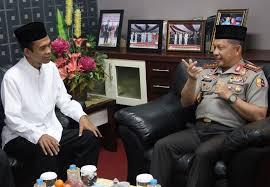 Kapolri Minta Nasihat Ustaz Somad Cara Jaga Keutuhan NKRI, Jawaban Ustaz Sungguh Tak Terduga