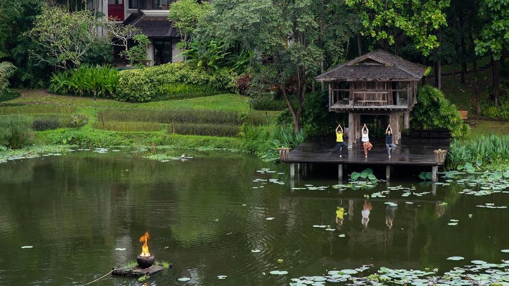 THE HOLIDAY SEASON AT FOUR SEASONS RESORT CHIANG MAI