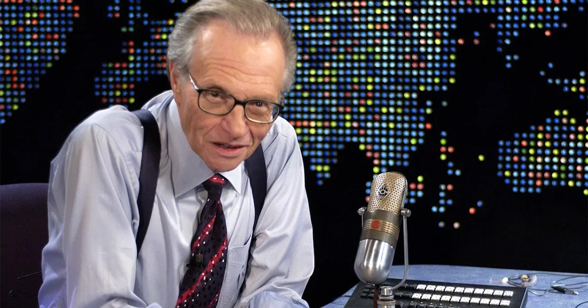 Legendary Broadcaster Larry King Dies Weeks After Being Hospitalised For CoVid-19 Aged 87