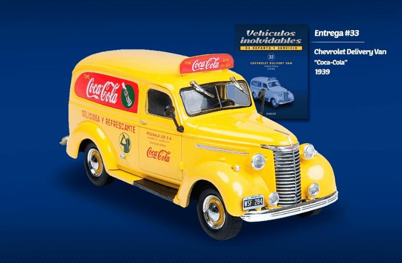 chevrolet delivery van coca cola