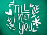 Till I Met You October 26, 2016