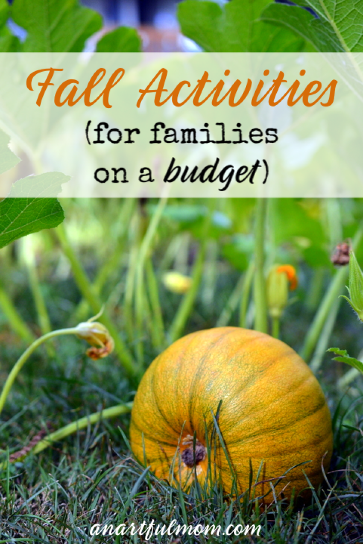 Fall activities on a budget