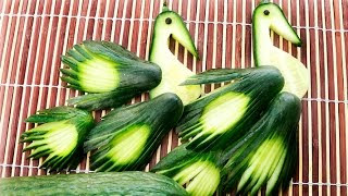 Cucumber Peacocks | How It's Made