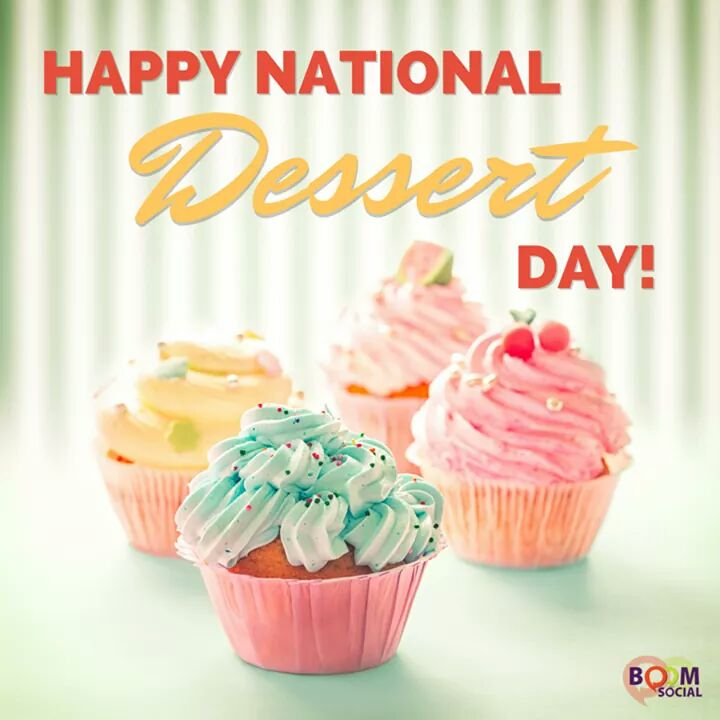 National Dessert Day Wishes for Whatsapp