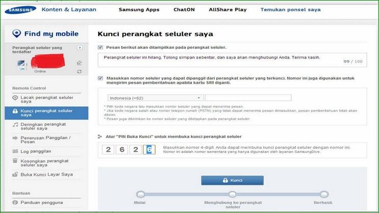 Mengunci Hape Samsung Agar Tidak Bisa Dipakai Cara Melacak HP Samsung Galaxy Yang Hilang Dicuri Secara Cepat Dan Akurat + Video Tanpa GPS dan Internet