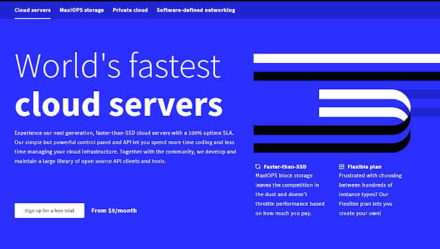 Upcloud World's fastest cloud server
