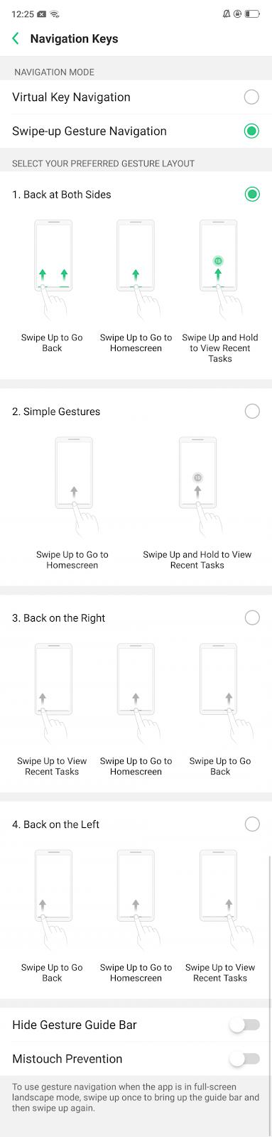 Cara Mengaktifkan Navigasi Gerakan di Realme 2 Pro
