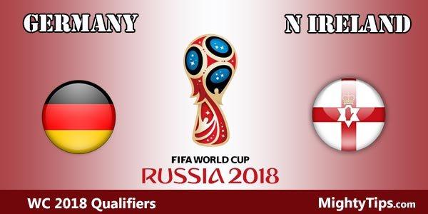 نتيجة وملخص مباراة المانيا وايرلندا الشمالية الاسطوره امس الخميس 5-10-2017 في تصفيات كأس العالم أوروبا