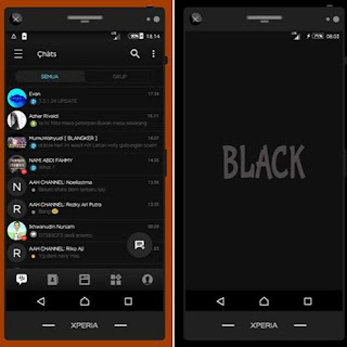 bbm mod black editon terbaru
