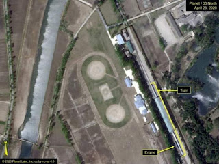 Misteri Kim Jong Un Dan Penampakan Kereta Miliknya Terparkir Di Wonsan
