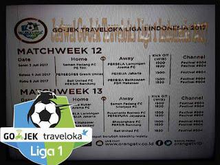Jadwal Pertandingan Gojek Traveloka Liga 1 Indonesia