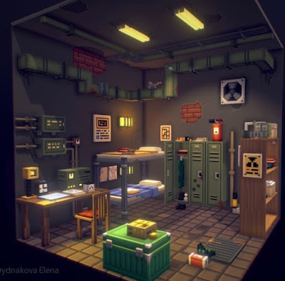 Voxel Art of the Month - February