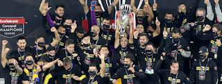 CONCACAF CHAMPIONS LEAGUE Tigres edge LAFC to book Club World Cup ticket