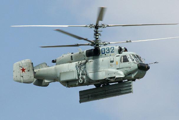 Kamov Ka-31 Helix radar