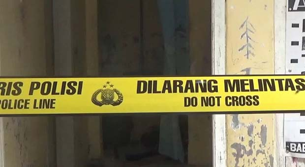 Rumah Wanita Terduga Pelaku Penusukan Wiranto Dipasang Garis Polisi