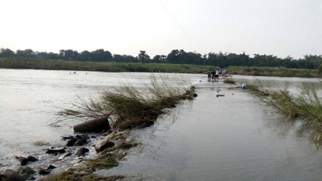 Lội sông đi chợ người phụ nữ bị nước cuốn tử vong thương tâm