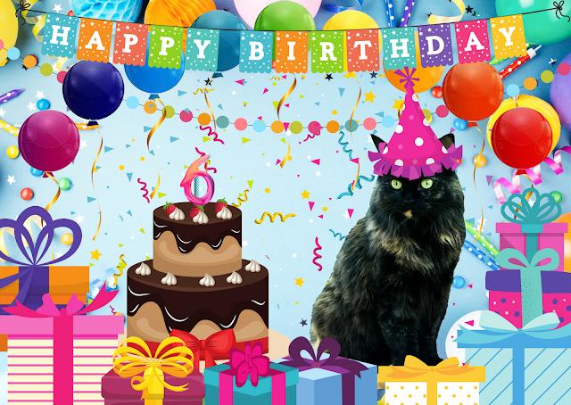 Pandora's 6th Birthday Pawty  ©BionicBasil®