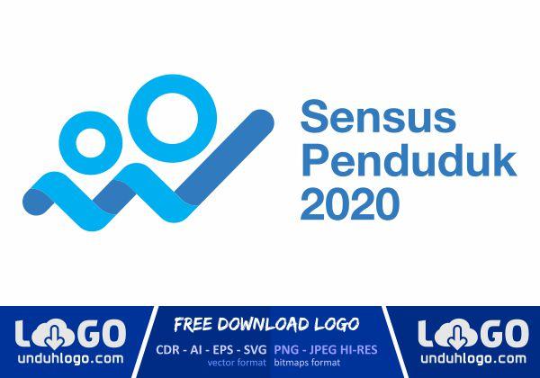 Logo Sensus Penduduk 2020