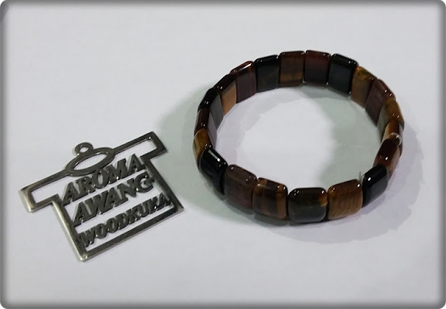 GELANG KOTAK TIGER EYE
