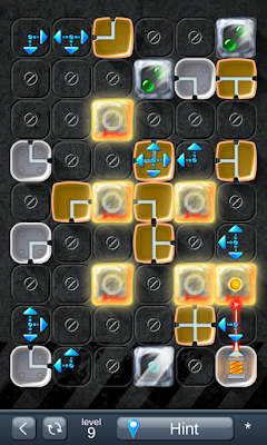Solution for Laser Box - Puzzle (Extra) Level 9