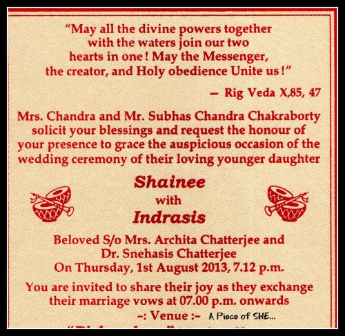 Wedding Cards Invitation Matter English English Text Layout