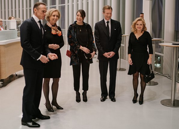 Grand Duke Henri and Princess Alexandra attended SOS Villages d'Enfants Monde Christmas Charity Concert